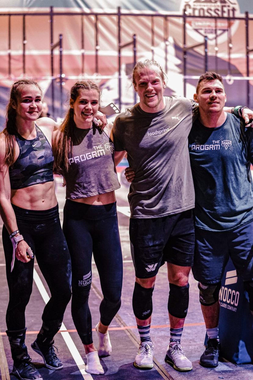team of athletes