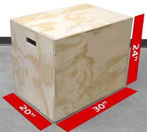 box jump measurements