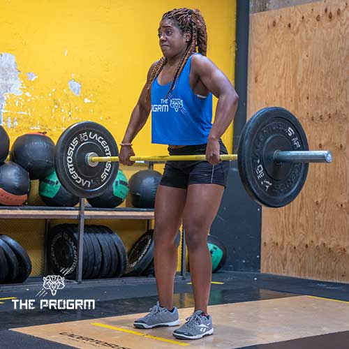 weightlifting clean and jerk