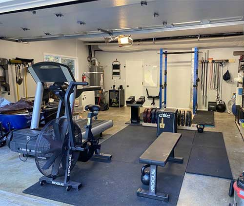 crossfit gym at home