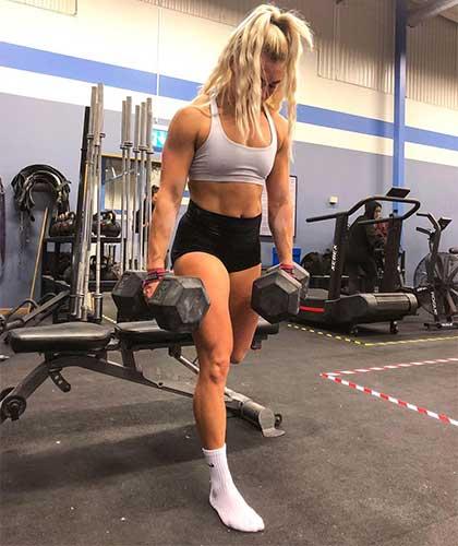 swedish crossfit athlete