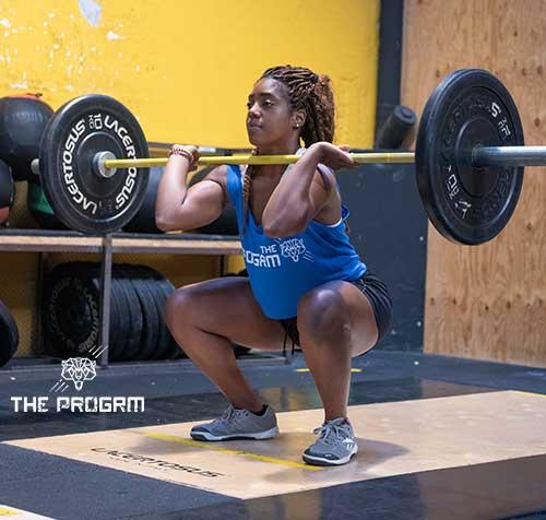 squat clean