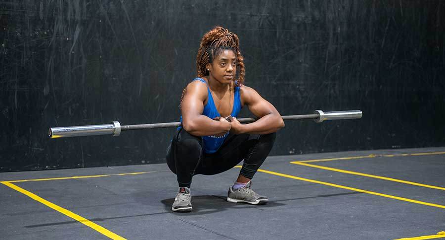 weightlifting warm up crossfit