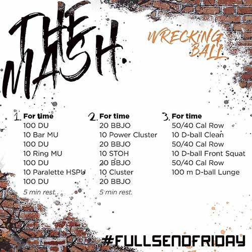 long wod endurance