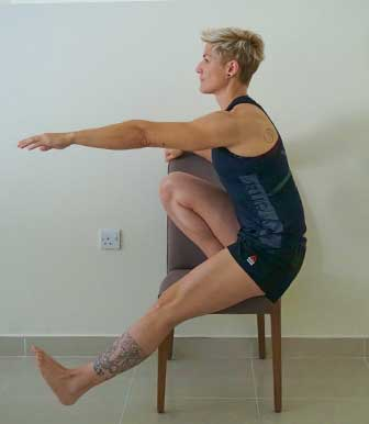 tutorial single leg squat