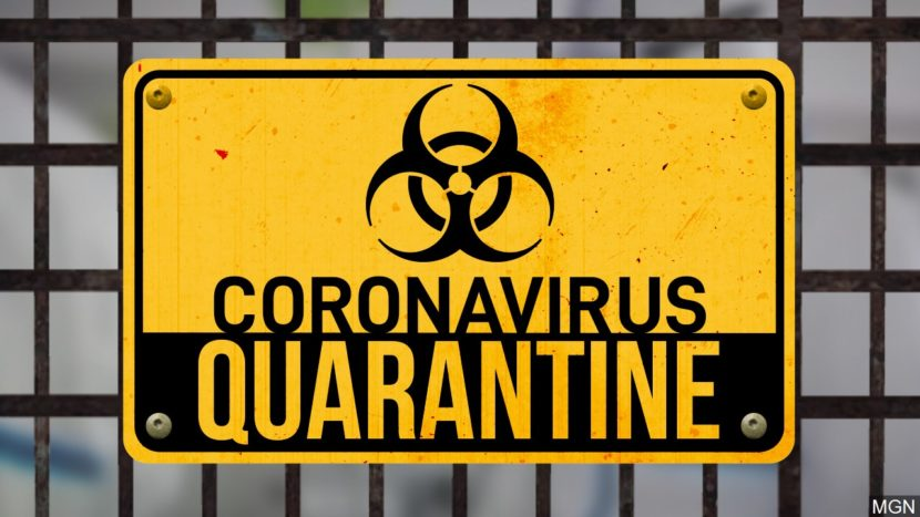 corona virus quarantine