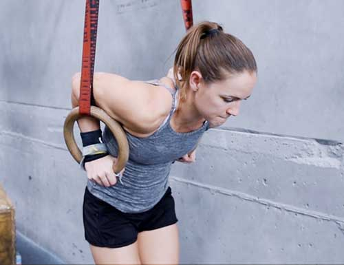 ring muscle up exercises