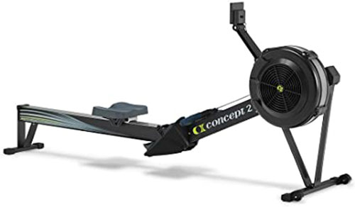 how to set up rower concept 2