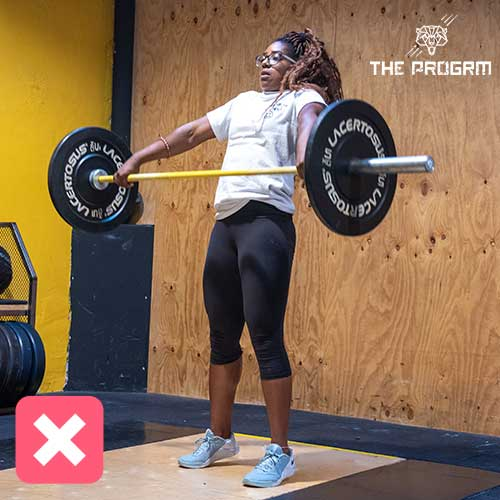 snatch common mistakes