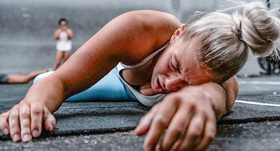 training while injured crossfit