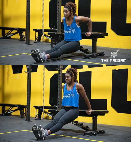 how to do ring dips